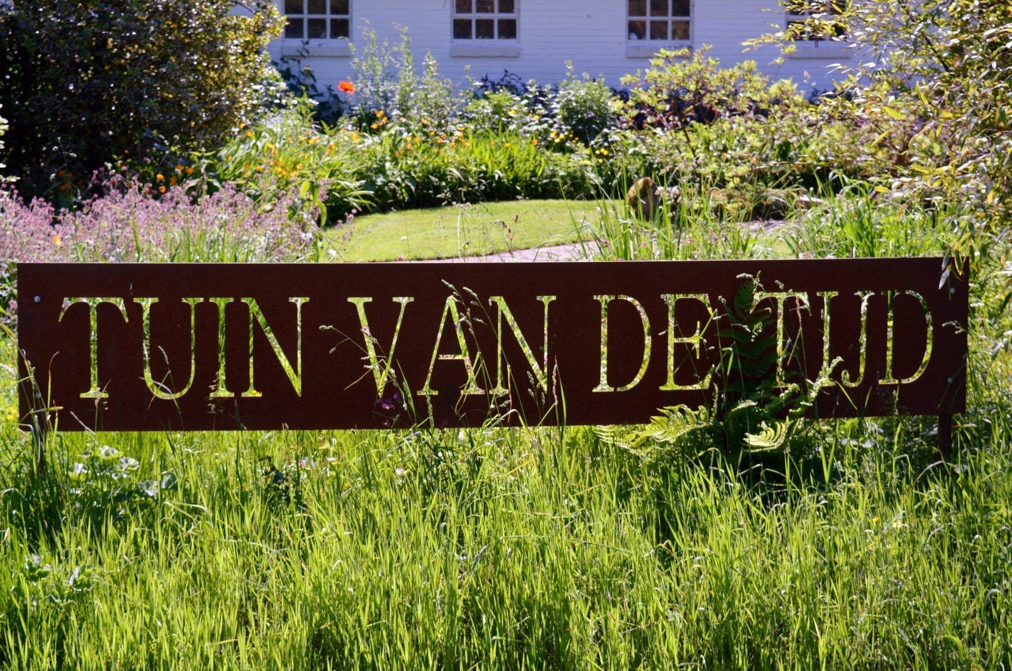 Tijd Voor Tuin : Tuinconcept mertens